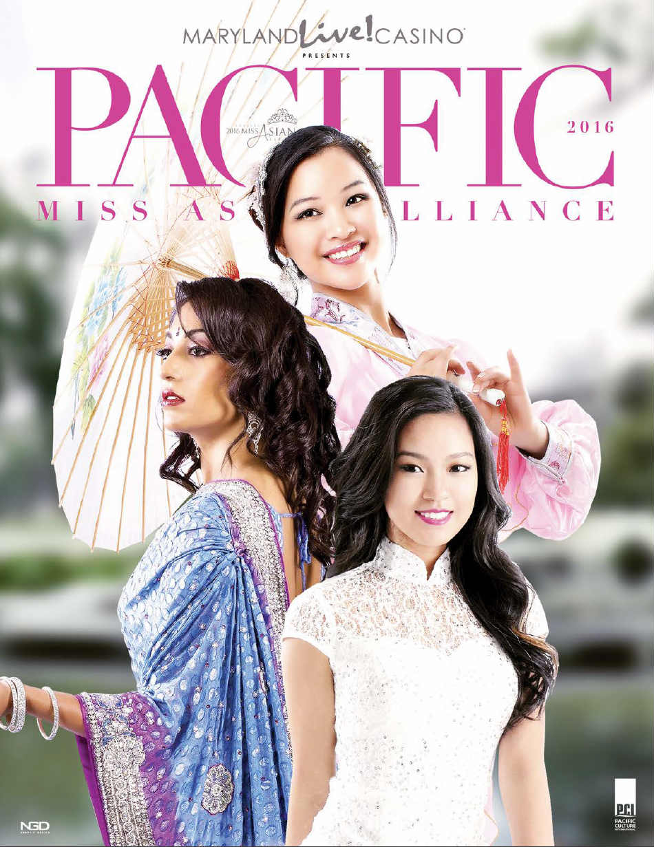 Pacific Miss Asian American 2016 Program Book